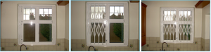 variety of window grilles