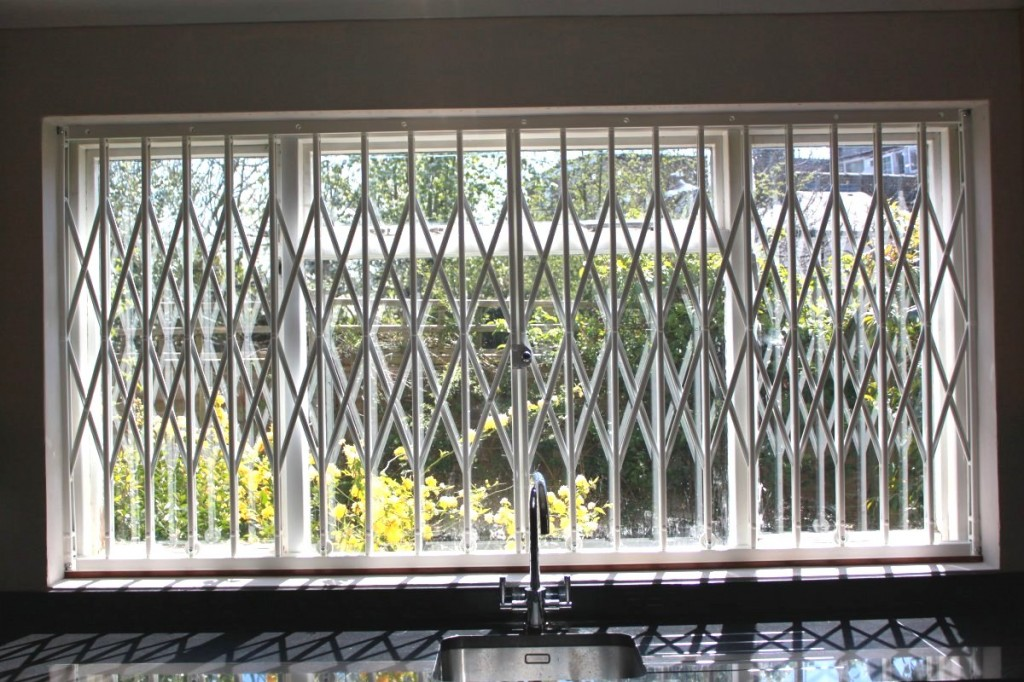 Window Grille - Muswell Hill Kitchen - closed