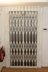 Lift Security Grille