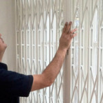 Window security grille